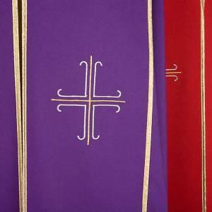 Dalmatik, Rauchmantel und Pluvial: Pluviale mit stilisierten und dekorierten Kreuzen