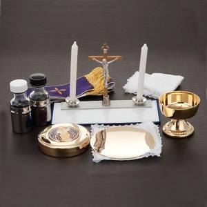Podróżny zestaw liturgiczny, futerał, skóra s3