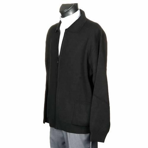Polo-neck black jacket s2