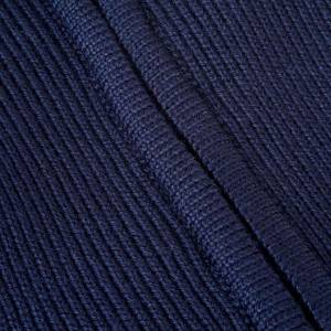 Polo-neck blue jacket s3