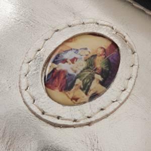 Portarosario borsina pelle diversi colori s5