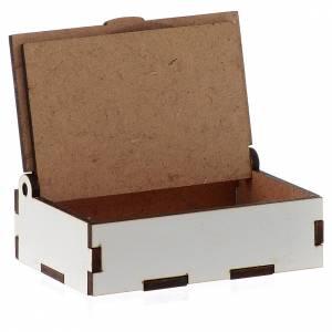 Portarosario de madera grabado láser Divina Misericordia s3