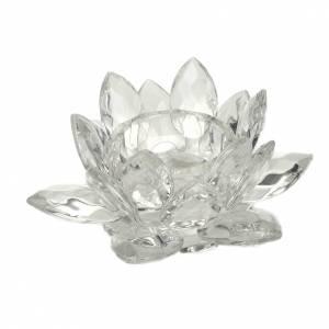 Portavela flor de vidrio s1
