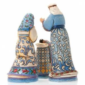 Presepe resina 13.5 cm - Mini Blue Nativity s3