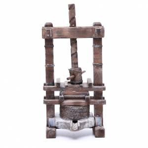 Presse pour aïl 24 cm crèche napolitaine s1