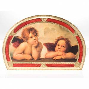 Print Raffaello's Angels, on wood panel s3
