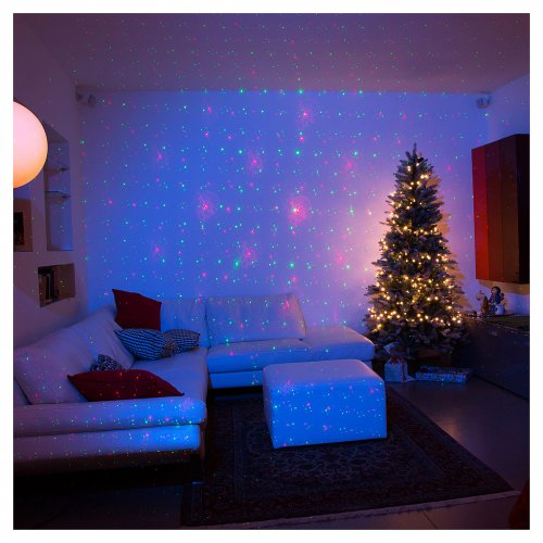 lumiere noel laser good christmas warm white star. Black Bedroom Furniture Sets. Home Design Ideas
