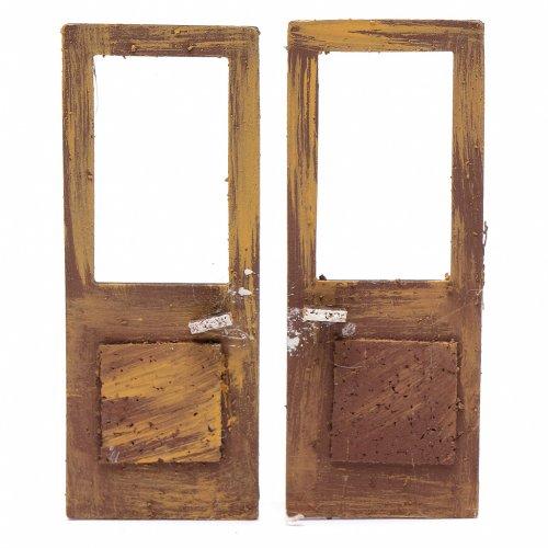 Puerta ventana set 2 piezas 15x5 cm para bel n venta for Puertas para piezas