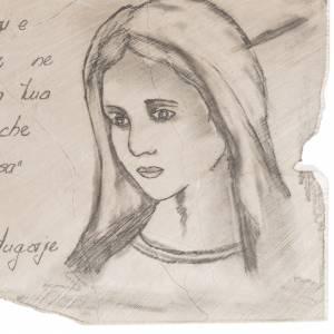 Statue Madonna di Medjugorje e immagini: Quadro benedizione Medjugorje