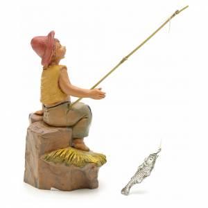 Ragazzo pescatore 12 cm Fontanini s2