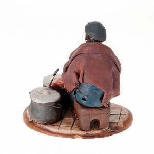 Presepe Terracotta Deruta: Ramaio terracotta presepe 18 cm
