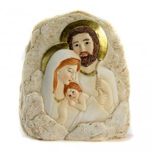 Regalos y Recuerdos: Recuerdo Piedra S.Familia 12,5x11,5 cm