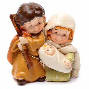 Nativity sets: Resin Holy family 4 cm children collection