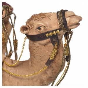 Rey Mago blanco sobre camello Belén 13 cm Angela Tripi s6