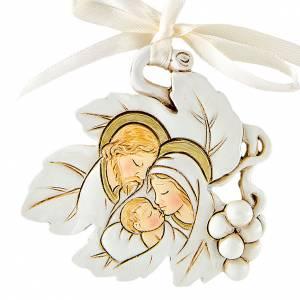 Bomboniere e ricordini: Ricordino Matrimonio Foglia S. Famiglia 5 cm
