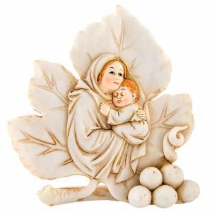 Bomboniere e ricordini: Ricordino Nascita Foglia Maternità 11 cm