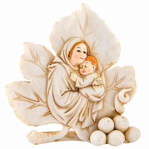 Ricordino Nascita Foglia Maternità 11 cm s1