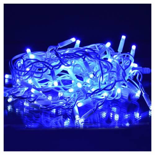 Rideau lumineux 60 leds bleus pour extérieur s2