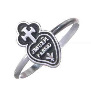 Gebetsringe: Ring Passionisten Silber 800