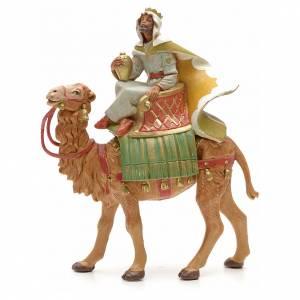 Roi maure avec chameau crèche Fontanini 12 cm s1