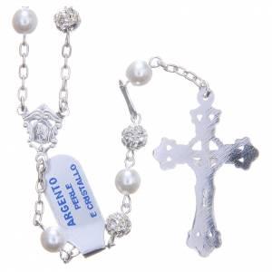 Rosario argento 800 6 mm perla s2