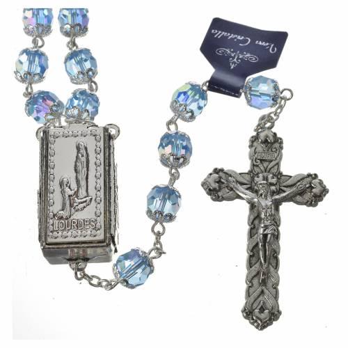 Rosario cristallo 7mm Lourdes s2
