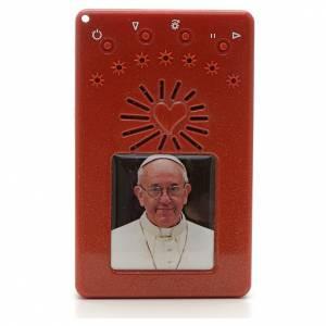 Rosario Electrónico Papa Francisco rojo Corona ITA s1