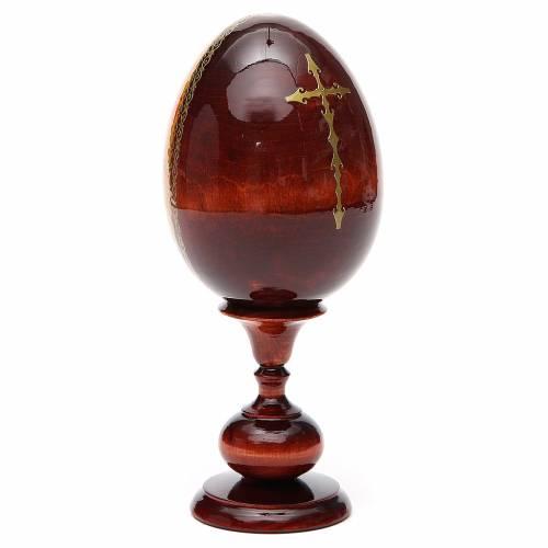 Russian Egg HAND PAINTED Kazanskaya 20cm s3