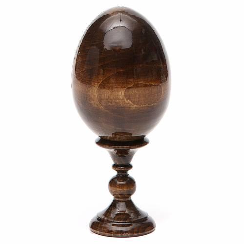 Russian Egg Liberating Virgin découpage 13cm s3