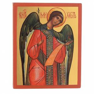 Russian hand-painted icons: Russian icon Michael the Archangel