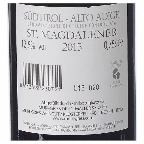 S. Maddalena DOC 2015 Muri Gries 750ml s2