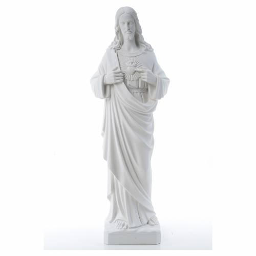 Sacré coeur de Jésus poudre de marbre reconstitué 80-100 cm s1