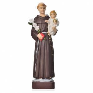 Saint Antoine statue pvc incassable 16 cm s1