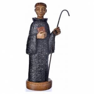 Saint Benedict in Bethléem stone, 24cm s1