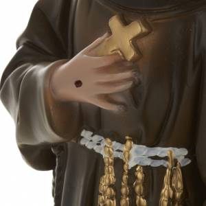 Saint Francis of Assisi plaster statue,  40 cm s3