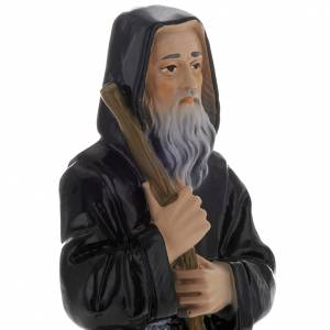 Saint Francis of Paola statue in plaster, 20 cm s2