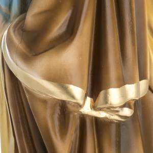 Saint Joseph with Child statue in plaster, 50 cm s7