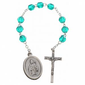 Devotional rosaries: Saint Jude Thaddaeus rosary beads