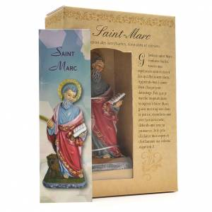 Saint Mark 12cm with French prayer s3