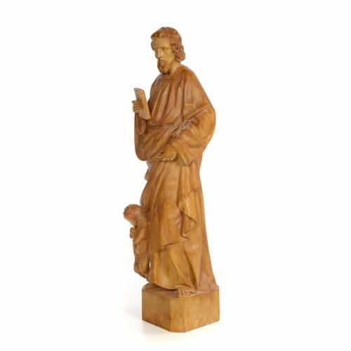 Saint Matthieu 60 cm pâte à bois finition brunie s2