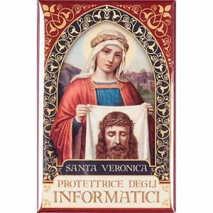 Saint Veronica badge, gold s1