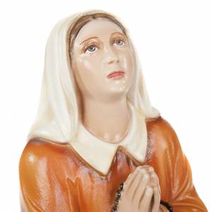 Sainte Bernadette 35 cm statue fibre de verre s4