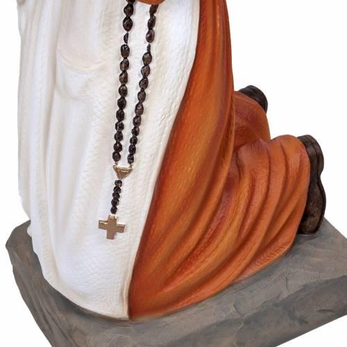 Sainte Bernadette marbre reconstitué 50cm peinte s3