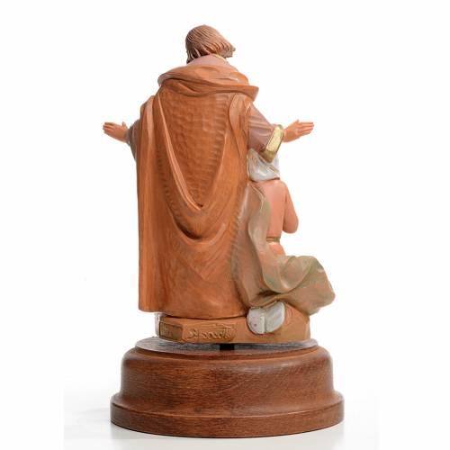 Sainte Famille crèche 18 cm avec carillon Fontanini s3