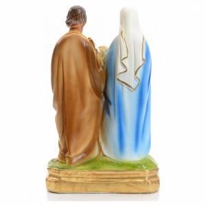 Sainte Famille en plâtre 20 cm s3