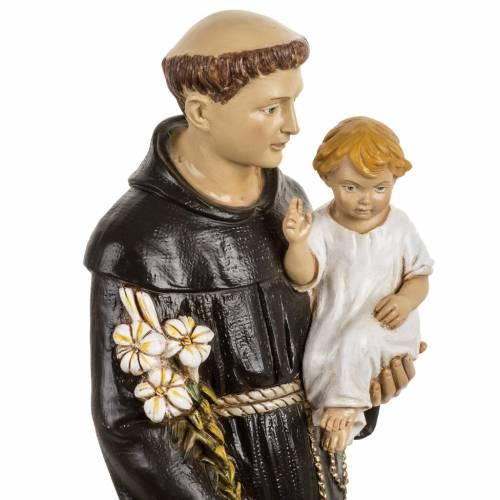 San Antonio de Padua 50 cm. estatua resina Fontanini s2