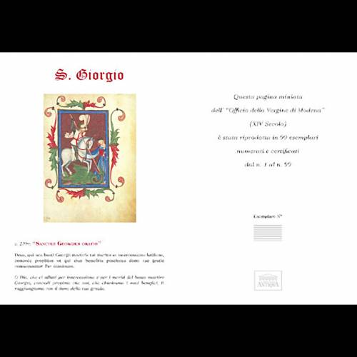 San Jorge manuscrito miniado s5