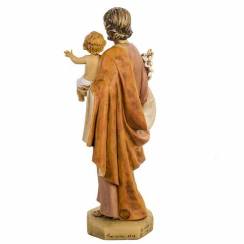 San José con Niño 50 cm. resina Fontanini s6