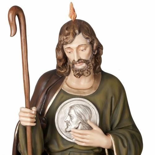 San Judas Tadeo 160cm en fibra de vidrio s2