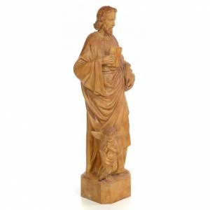 San Matteo 60 cm pasta di legno dec. brunita s4